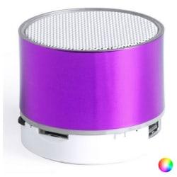Bluetooth högtalare med LED-belysning Svart