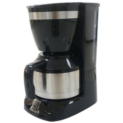 Kaffebryggare 800W svart (12 koppar) Black