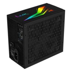 Nätaggregat Gaming Aerocool RGB 650W Svart Black