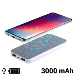 Power Bank with Wireless Charger 1462DC Grey