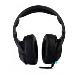 Spelhörlurar med mikrofon CoolBox DG-AUR-02PRO Svart Svart