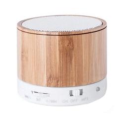 Trådlös Bluetooth högtalare USB FM 3W Bambu Bamboo