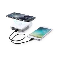 Trådlös power bank 6700 mAh USB-C Vit White