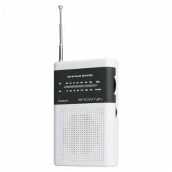 Transistorradio BRIGMTON BT-350 Vit White