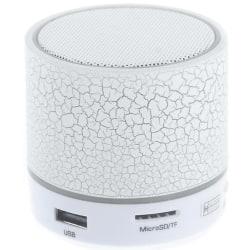 Bluetooth högtalare mini Vit