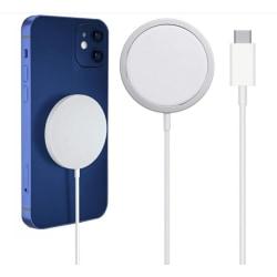 Magnetisk Trådlös Magsafe 15W Snabbladdare För iPhone