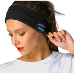 Sovhörlurar Bluetooth Pannband