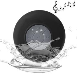 Vattentät Högtalare med Bluetooth Svart