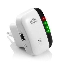WiFi Förstärkare Förlänger Räckvidden Vit