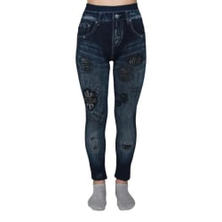 No1 Jeans  Leggings Dam Bomull