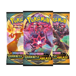 Pokemon Sword & Shield 3 Darkness Ablaze 3st Boosters