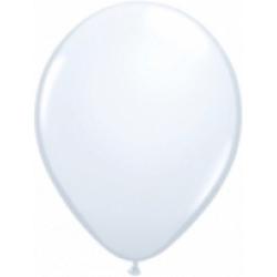 Ballonger i latex 12-pack, Vit