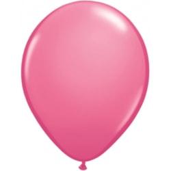 Ballonger i latex 12-pack, Rosa