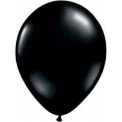 Ballonger i latex 12-pack, Svart