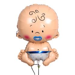 bebis ballong till baby shower, pojke