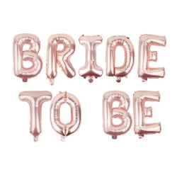 Bride to be ballong girlang, Rosé