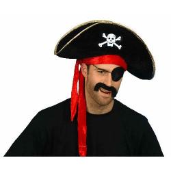 pirathatt, piratmössa perfekt för halloween