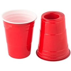 Red cups 2in1 (25-pack)