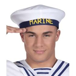 sailor hatt, sjömans hatt, blå vit
