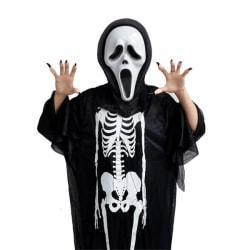 skelett dräkt för barn