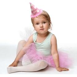Tyllkjol/ballerinakjol för barn, Rosa