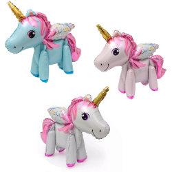 Unicorn enhörning 3 olika färger- Osorterad