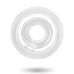 ADDICTED TOYS POTENZ SET PENISRING KLAR Transparent one size