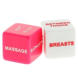 AMORESSA Erotiska tärningar för par Rosa one size
