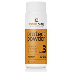 COBECO CleanPlay Skyddspulver för sexleksaker 125 gram Vit one size