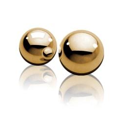 Pipedream Golden Ben-Wa Balls - 57gr 2cm Metall Knipkulor Guld M