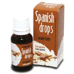Spanska Droppar Karamellsmak 15ml Lusthöjande/Stimulerande Olja Brons one size