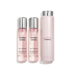 Chanel Chance Eau Tendre EdT Twist and Spray 3x20ml