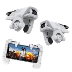 Fortnite/Pubg - Avtryckar Kontroll till Mobil - Triggers White