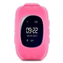 GPS Klocka Q50 för Barn - Rosa Pink