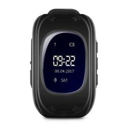 GPS Klocka Q50 för Barn - Svart Svart