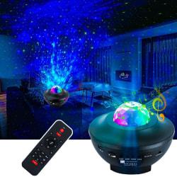 LED Stjärnprojektor med Högtalare - Galaxy