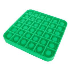 Pop It Fidget Bubble Square - Grön