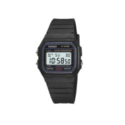 Casio F91W-1 digitalt retro armbandsur svart