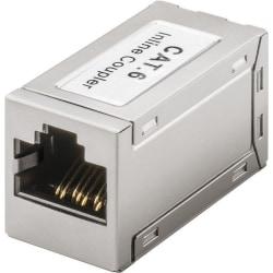 Skarvdon förlängning nätverkskabel Cat 6 (10 000 Mbit/s) silver