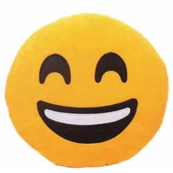 Emoji kuddar | Kudde | Stor 38 cm | Happy