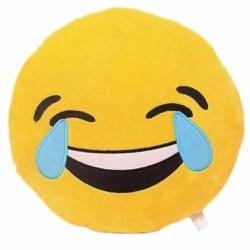 Emoji kuddar | Kudde | Stor 38 cm | Laughing with tears