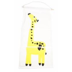 Hängare barnrum med 3-fack   Giraff
