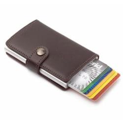 Kreditkortshållare med Pop-Up