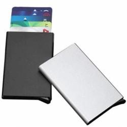 Kreditkortshållare med Pop-Up, Silver