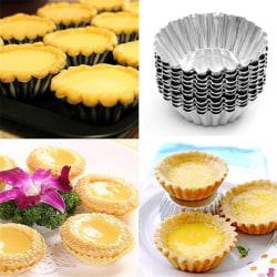 10st Bakformar i metall - Muffinsform - Småkakor - Formar