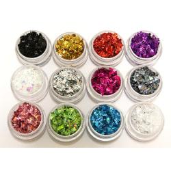 12st burkar glitter flakes