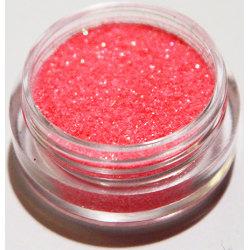 1st Finkornigt glitter Korall