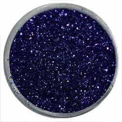 1st Finkornigt glitter Mörk blå