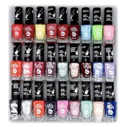 5st nagellack, nail polish - Multipack -   multifärg