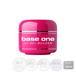 Base one - Bianco - W1 Naturale 15g UV-gel